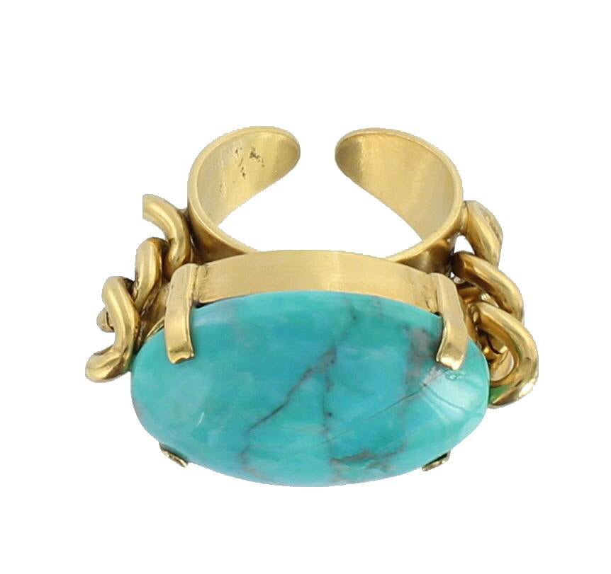 BAGUE JANE TURQUOISE