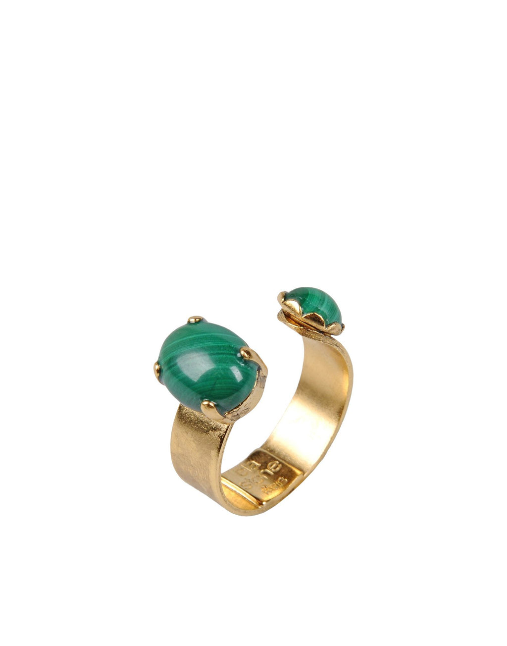 LIAD Bague LIADANA Malachite