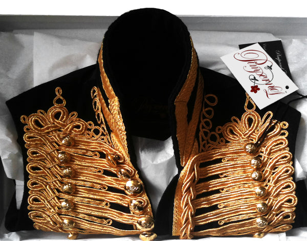 Pimpernel Clothing Gold Hussar Waistcoat