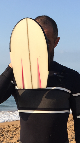 Bodysurf handmade sustainable saint jacques waves