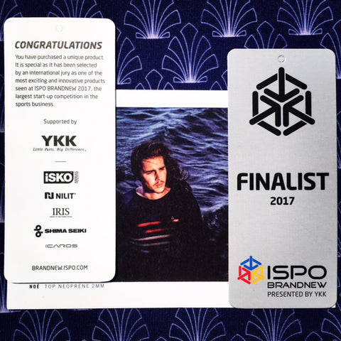 award saint jacques wetsuits surf wave ISPO munich neoprene