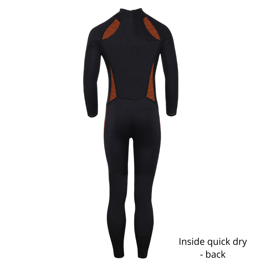 Clovis - Fullsuit back zip quick dry 3/2 mm