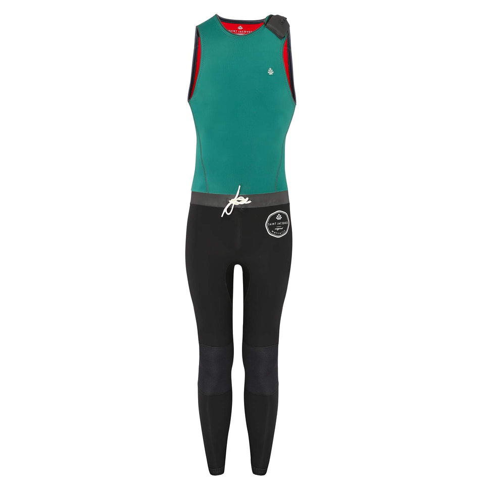 long-john-3-mm-green-leon-saint-jacques-wetsuits