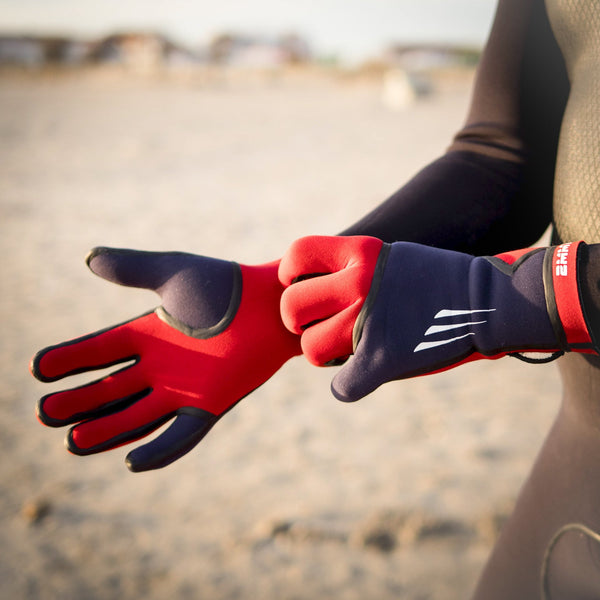 neoprene wetsuits surf gloves sea