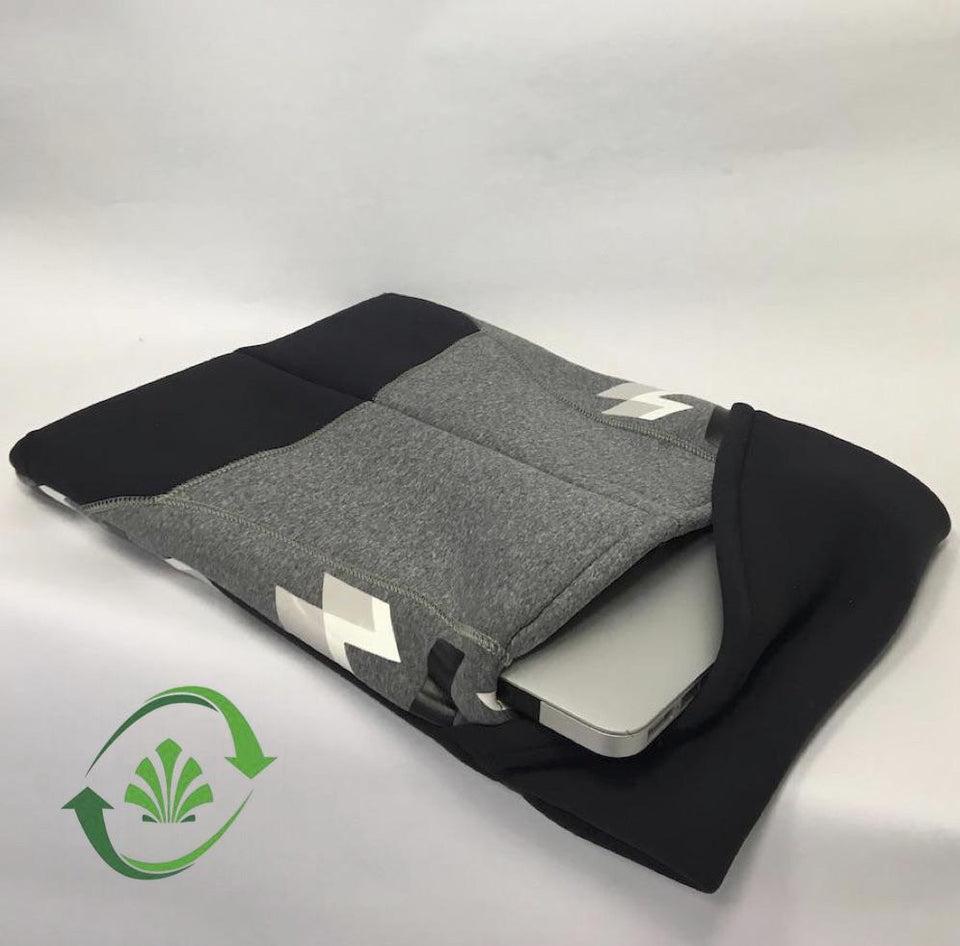 Recycled neoprene computer case
