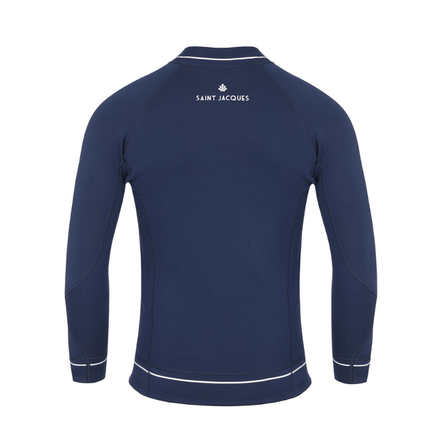 Spencer blue line - Front zip jacket wetsuit 3 mm