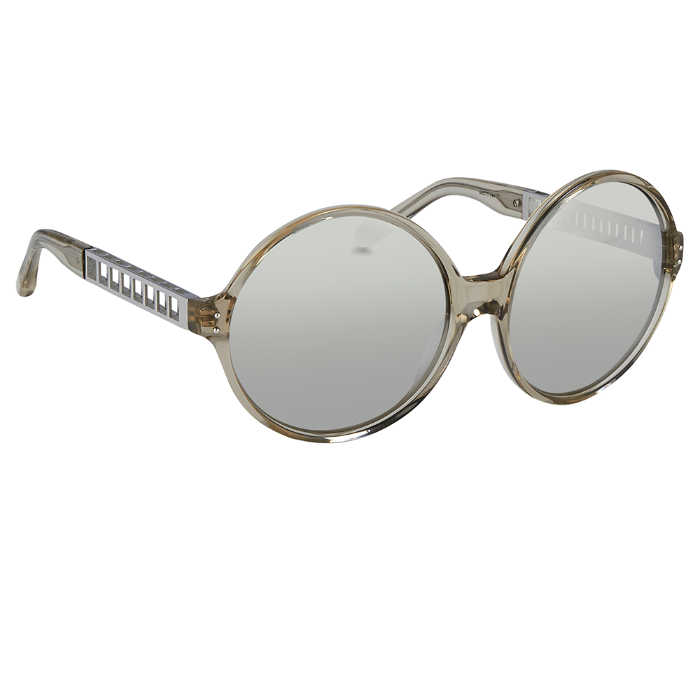 56678ec55fb 451 C8 Round Sunglasses in Truffle