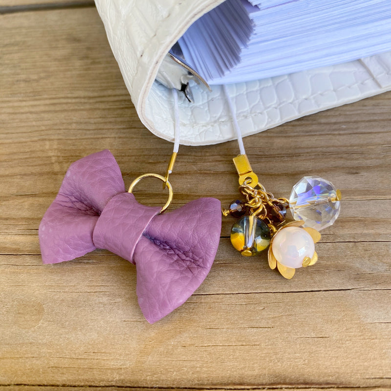 PLANNER TAIL or BOOKMARK MINI BOW Iris Bow