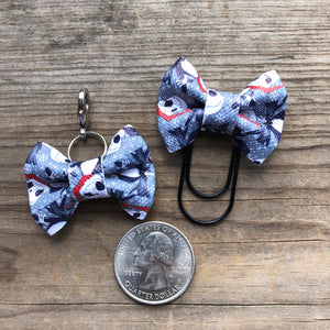 LILY BOW Santa Jack Bow Paperclip or Bow Clasp