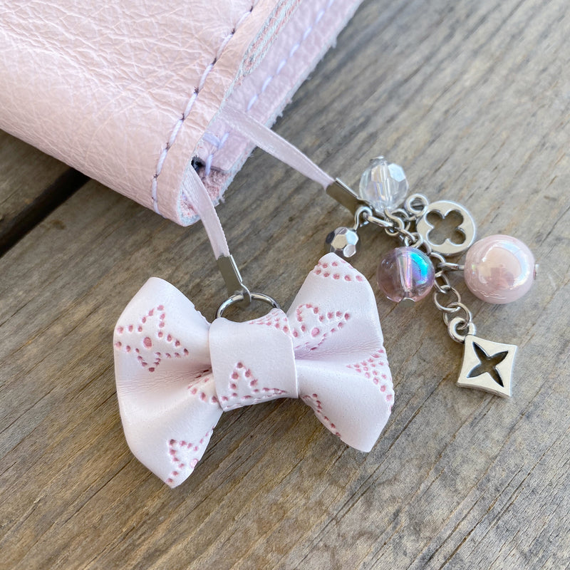 PLANNER TAIL or BOOKMARK LILY BOW Dame Chic Collection Blush Empreinte Bow