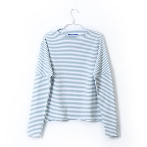 LONG SLEEVE BOXY STRIPED SHIRT
