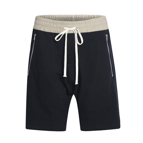 DRAWSTRING SHORTS BLACK
