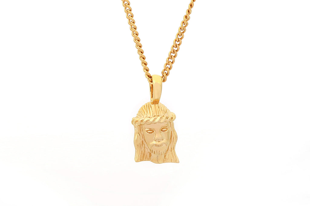 JESUS GOLD NECKLACE