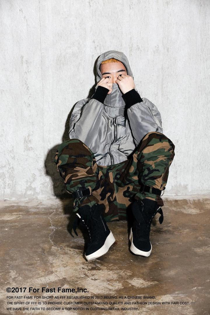 HOODED MA-1 BOMBER JACKET