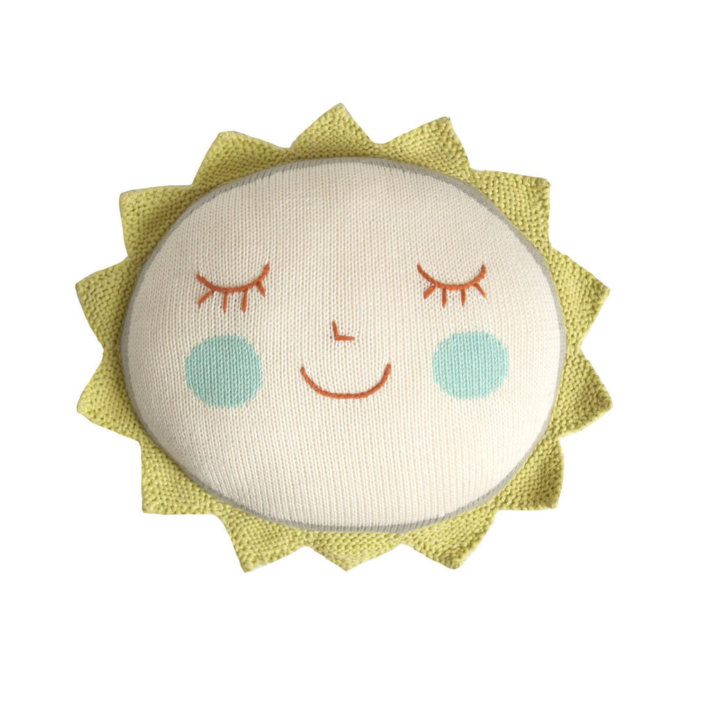 Blabla - Knitted Sun Cushion