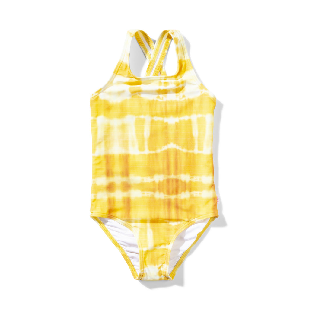 Missie Munster - Glaze One Piece - Yellow Tye Dye