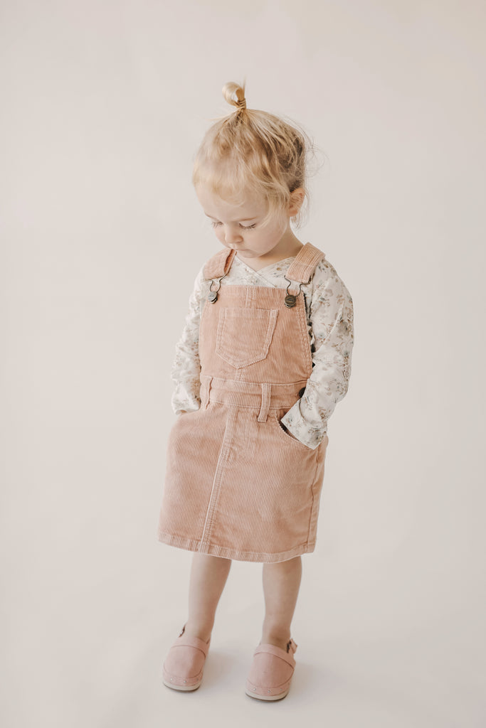 Jamie Kay - Cord Chloe Overall Dress - Angel