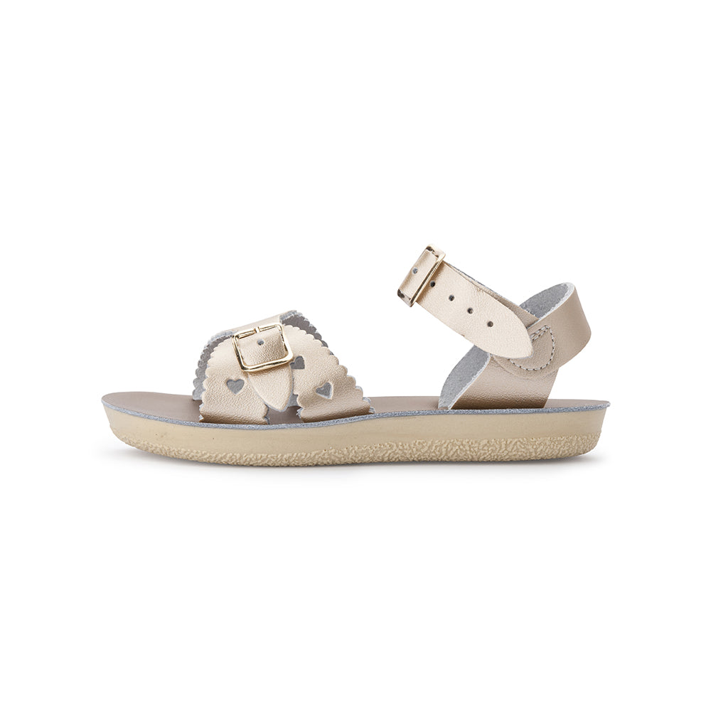 Salt Water Sandals - Sun-San - Sweetheart - Gold