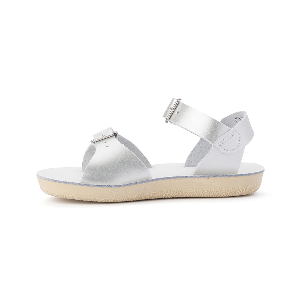 Salt Water Sandals - Surfer - Silver