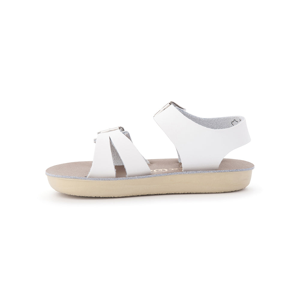 Salt Water Sandals - Sun San - Sea Wee - White