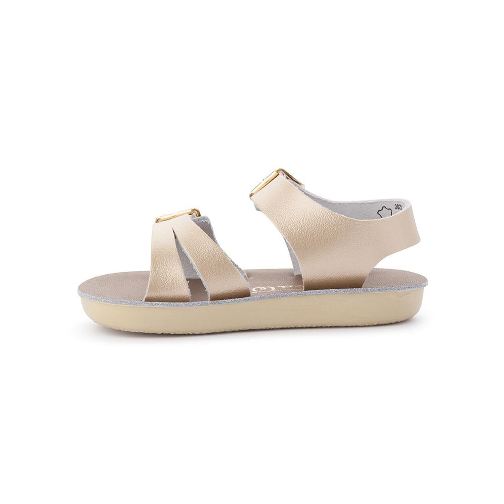 Salt Water Sandals - Sun San - Sea Wee - Gold