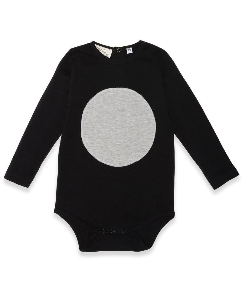 Band of Boys - LS Circle Patch Onesie - Baby