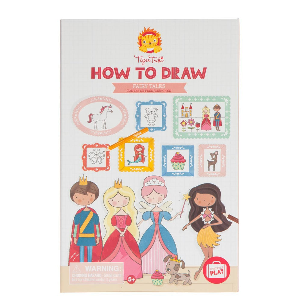 Tiger Tribe - How to Draw - Fairy Tales