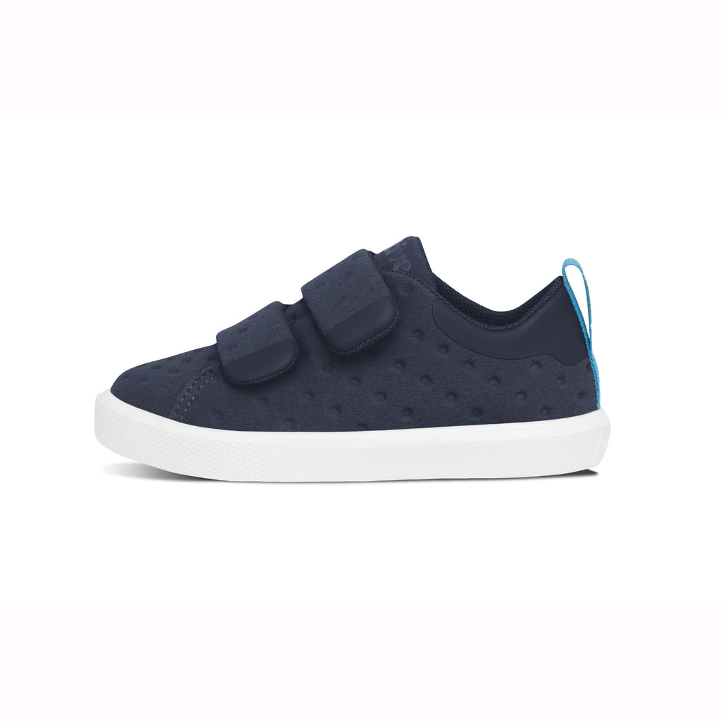 Native Shoes - Monaco Velcro Child - Regatta Blue / Shell White