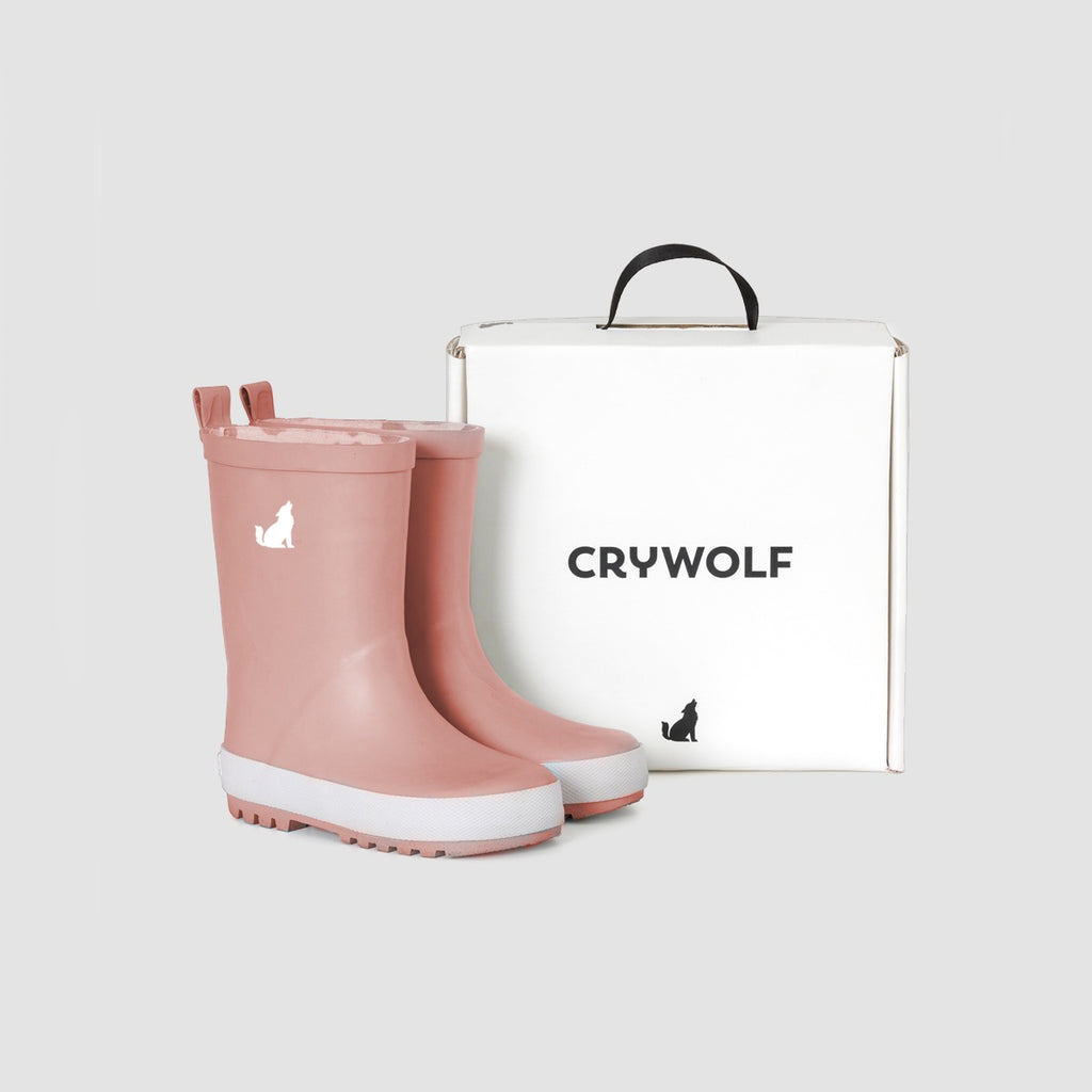 Cry Wolf Rain Boots - Rose