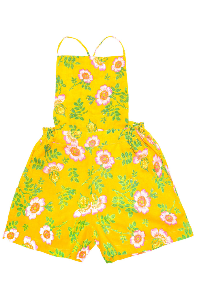 Coco and Ginger - Playsuit - Yellow Dogwood Rose