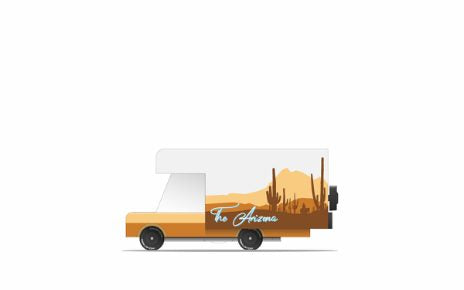 Candylab Mini Wooden Vehicle - Arizona RV