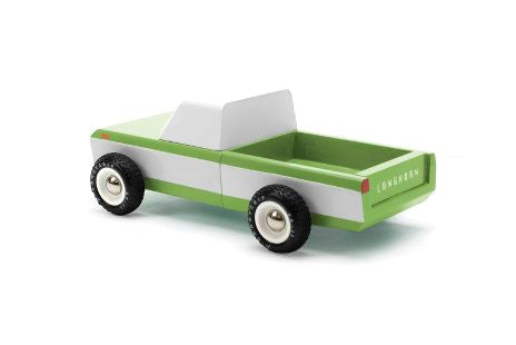 Candylab Wooden Vehicle - Longhorn Olive