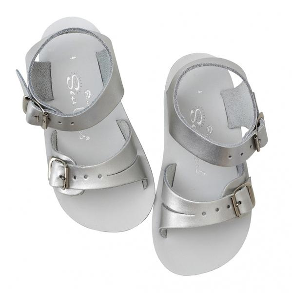 Salt Water Sandals - Sun San - Sea Wee - Pewter