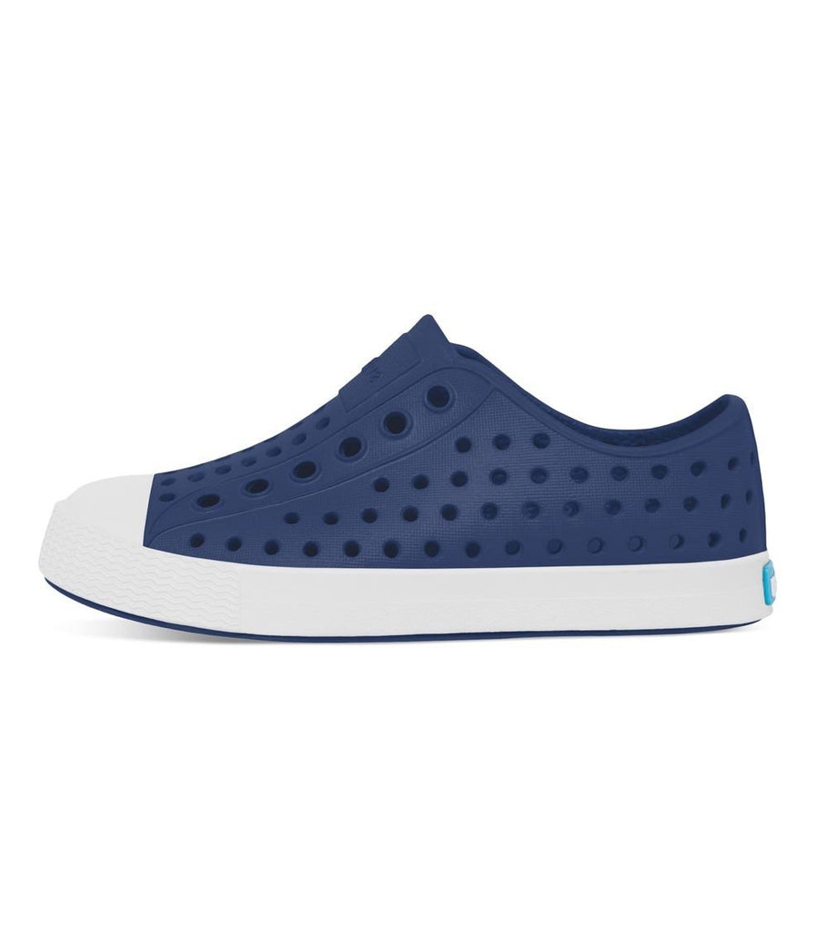 Native Shoes - Jefferson Child - Regatta Blue / Shell White