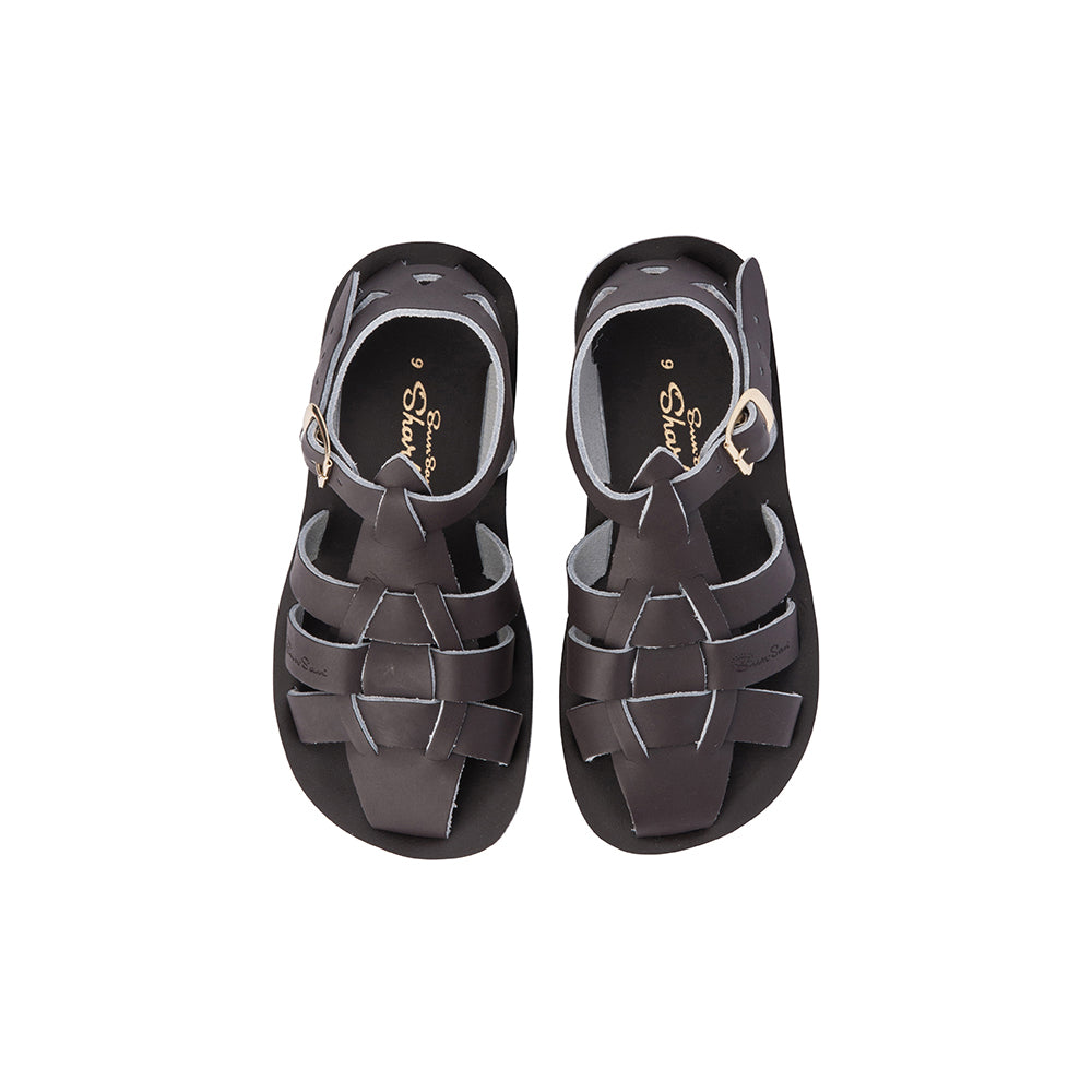 Salt Water Sandals - Shark - Brown