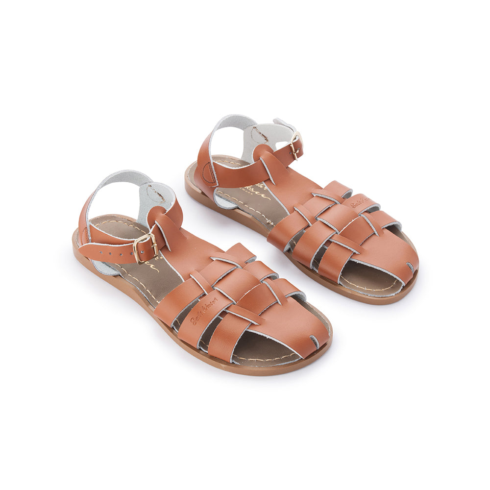 Salt Water Sandals WOMENS - Shark Original - Tan