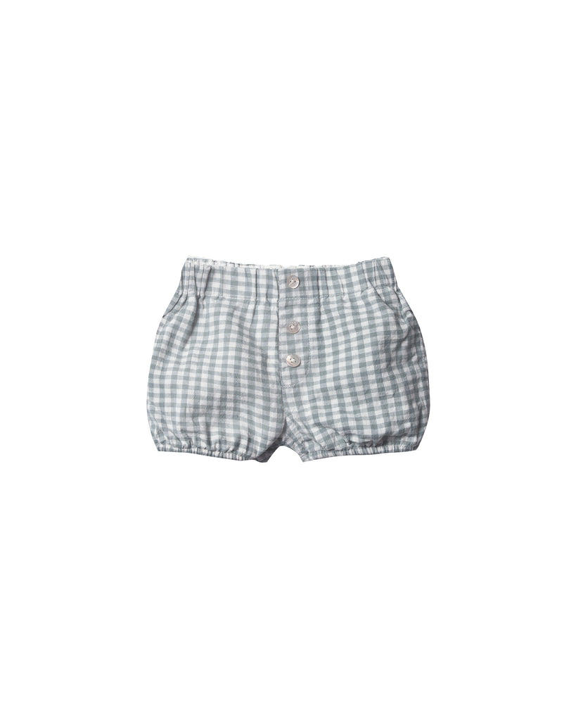 Rylee & Cru - Gingham Button Short - Sea