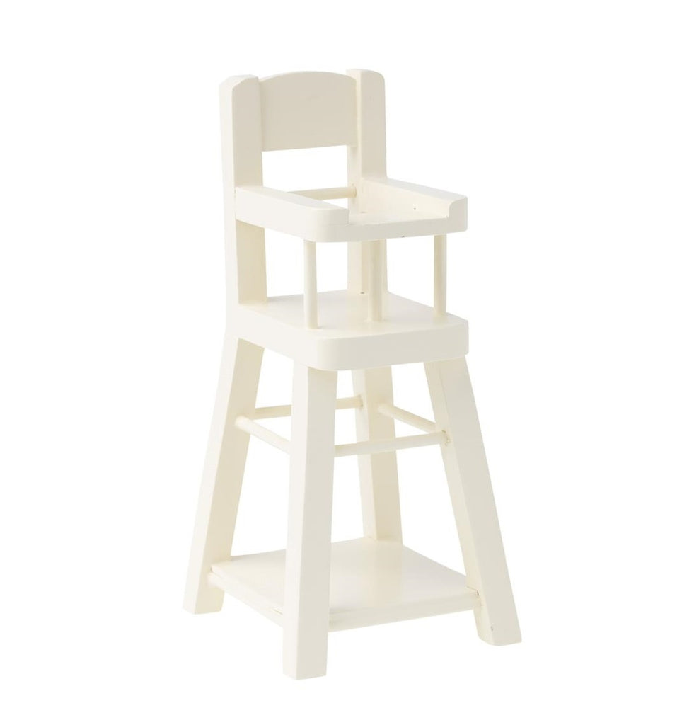 Maileg - Micro High Chair - White