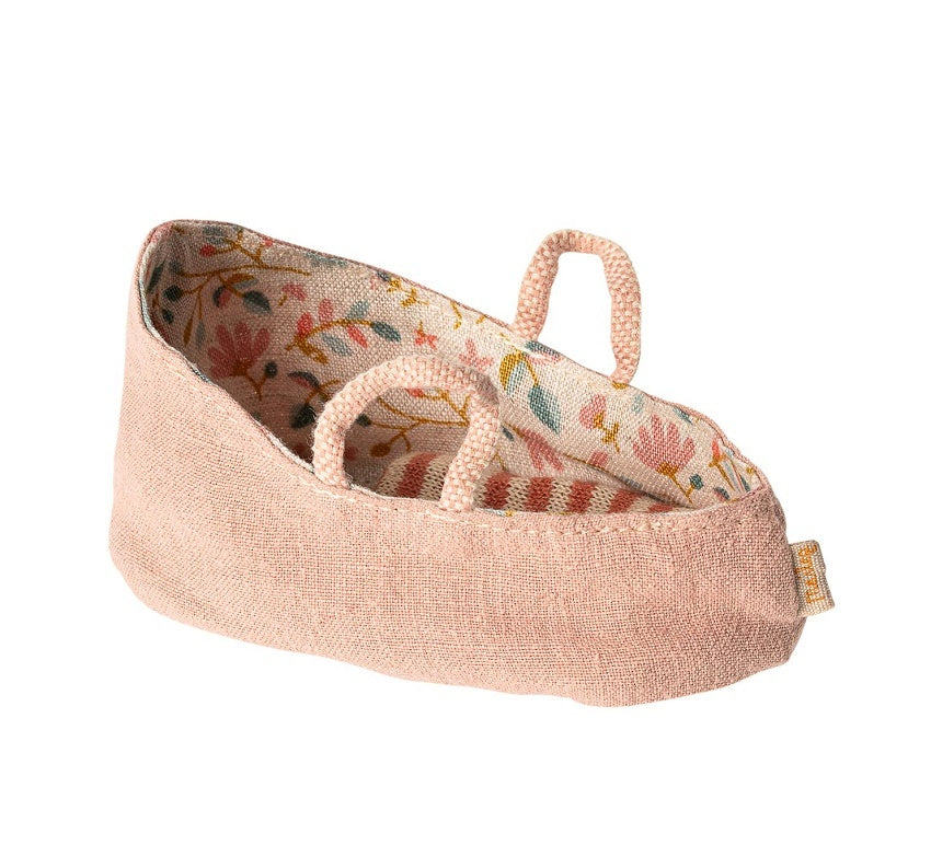 Maileg - Carry Cot My - Misty Rose