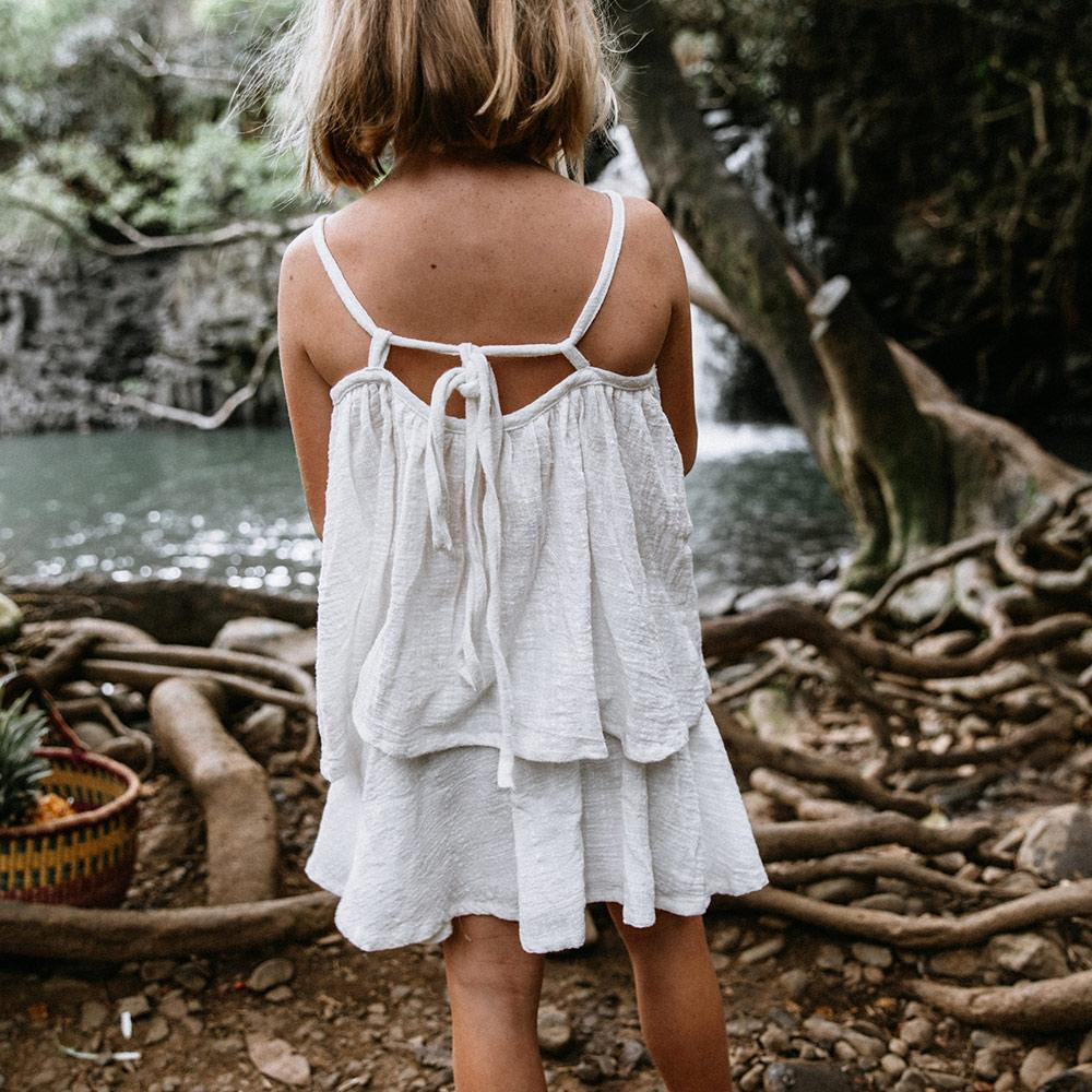 Children of the Tribe - White Ginger RaRa Skirt
