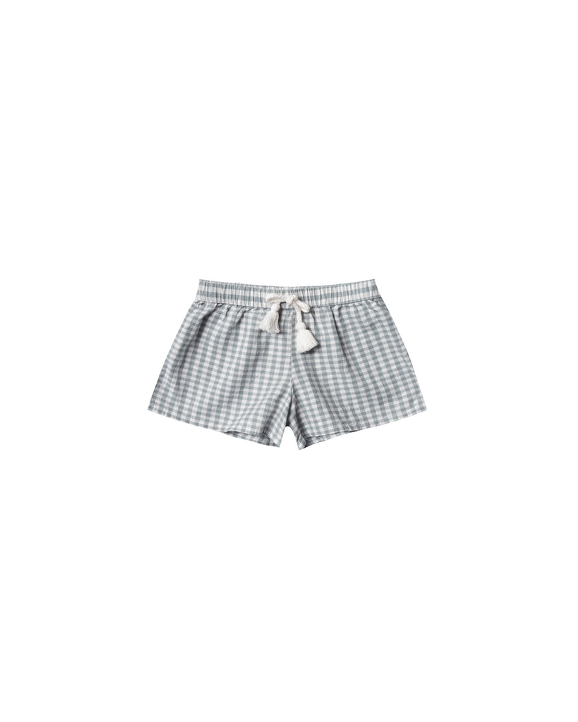 Rylee & Cru - Gingham Solana Short - Sea