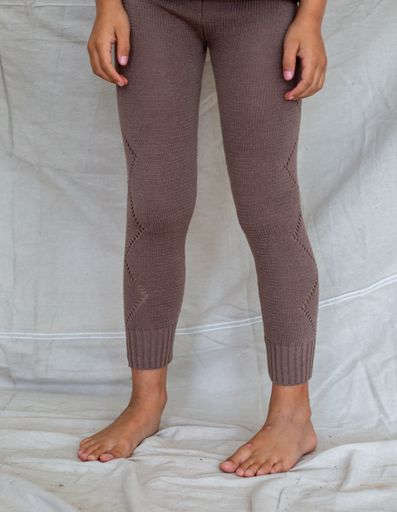 Bella and Lace - Knitted Leggings - Milo