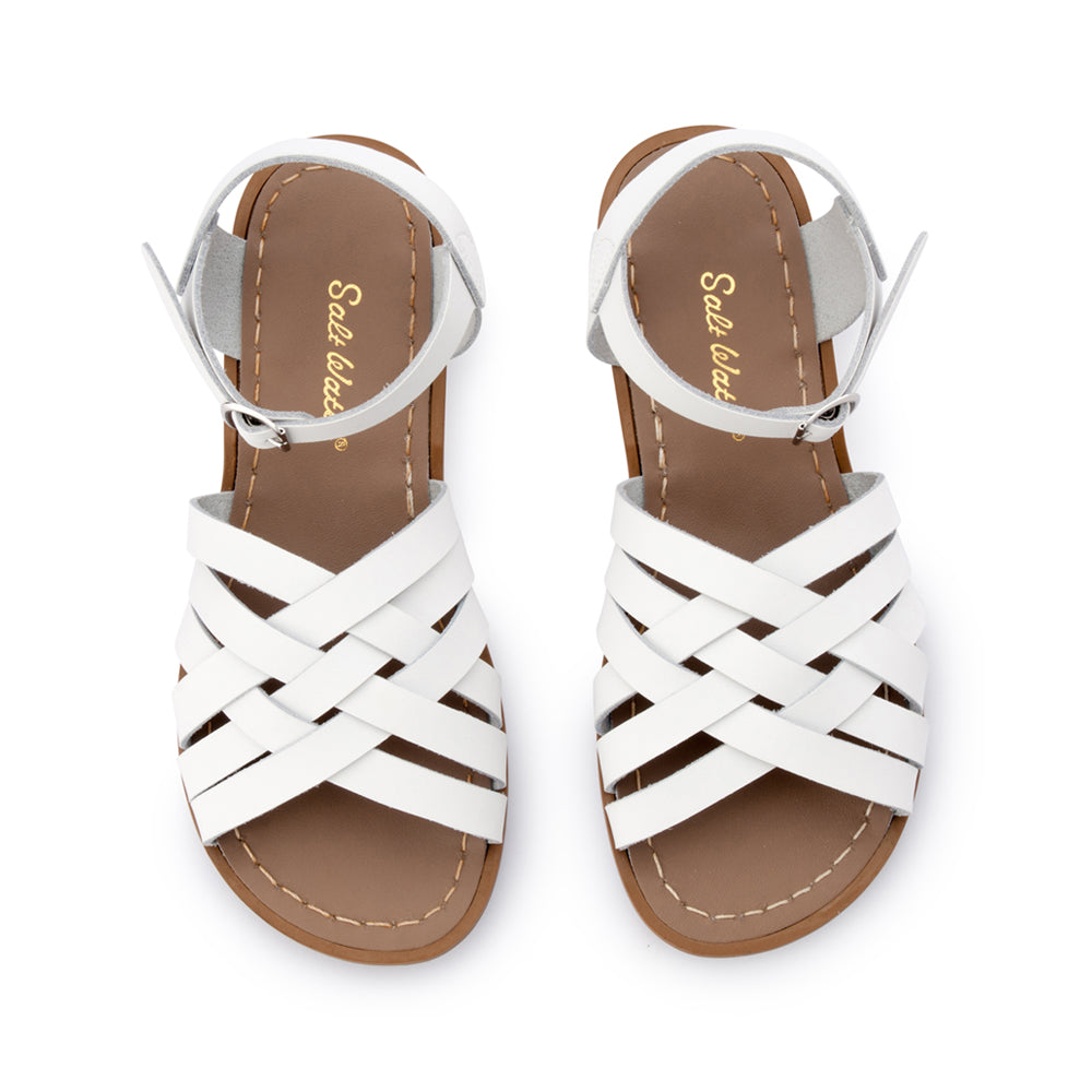 Salt Water Sandals WOMENS - Retro - White