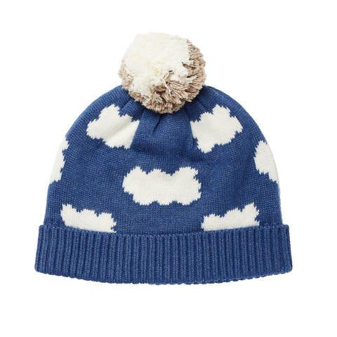 Acorn - Up In The Clouds Beanie - Ocean Blue