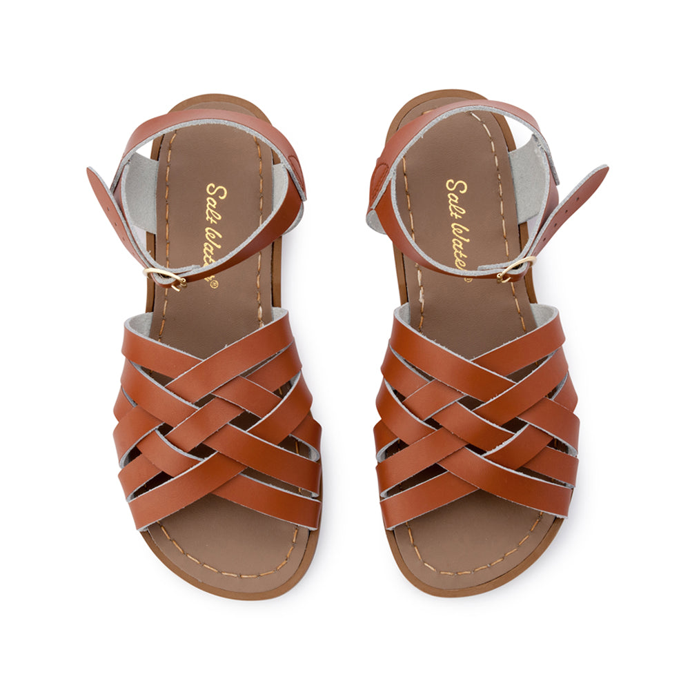 Salt Water Sandals WOMENS - Retro - Tan