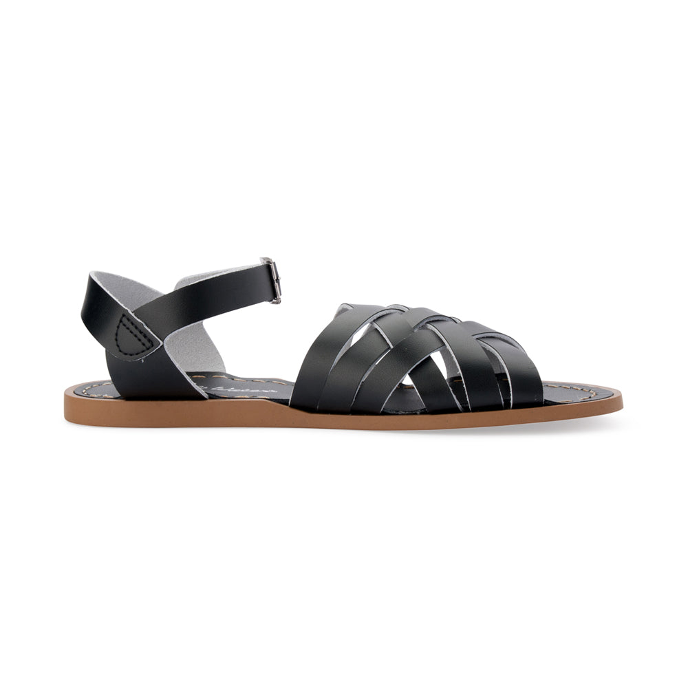 Salt Water Sandals WOMENS - Retro - Black