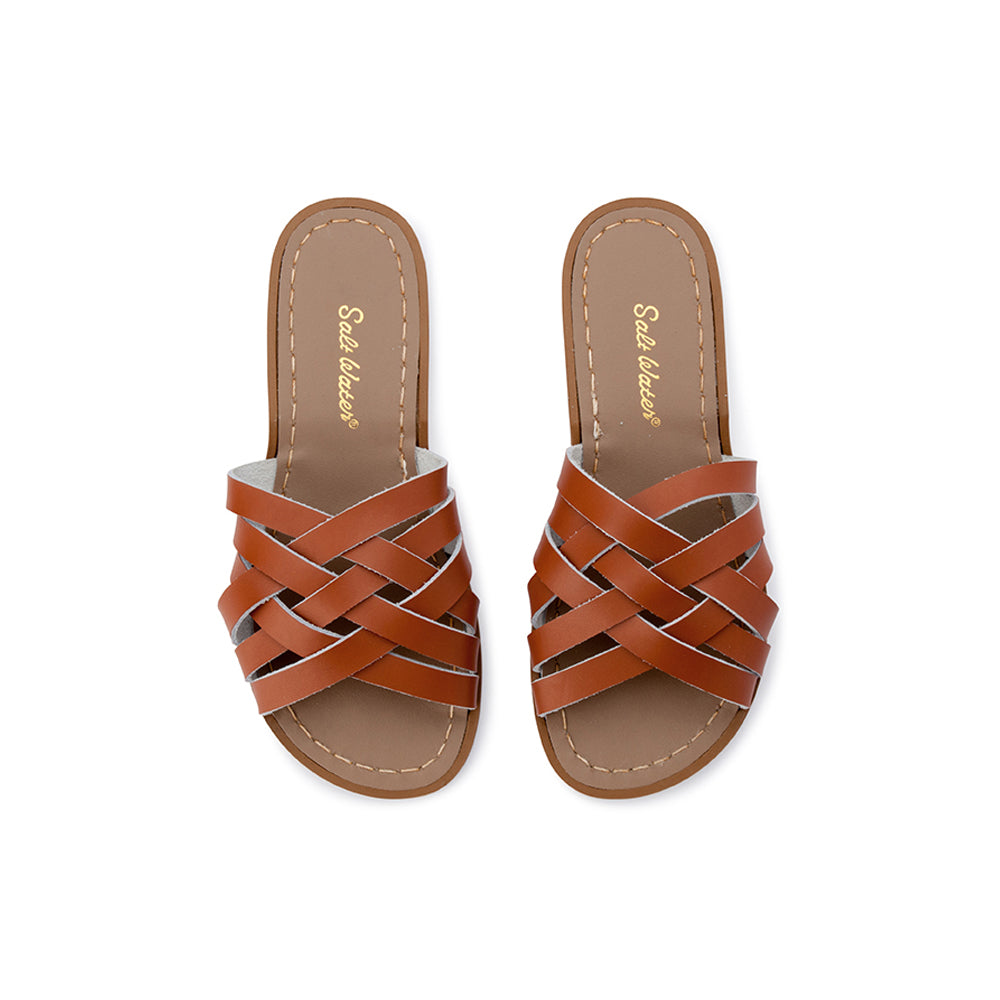 Salt Water Sandals WOMENS - Retro Slide - Tan