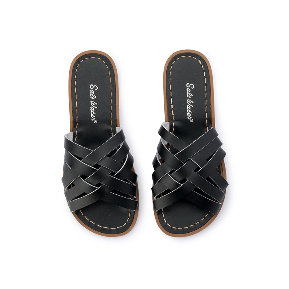 Salt Water Sandals WOMENS - Retro Slide - Black