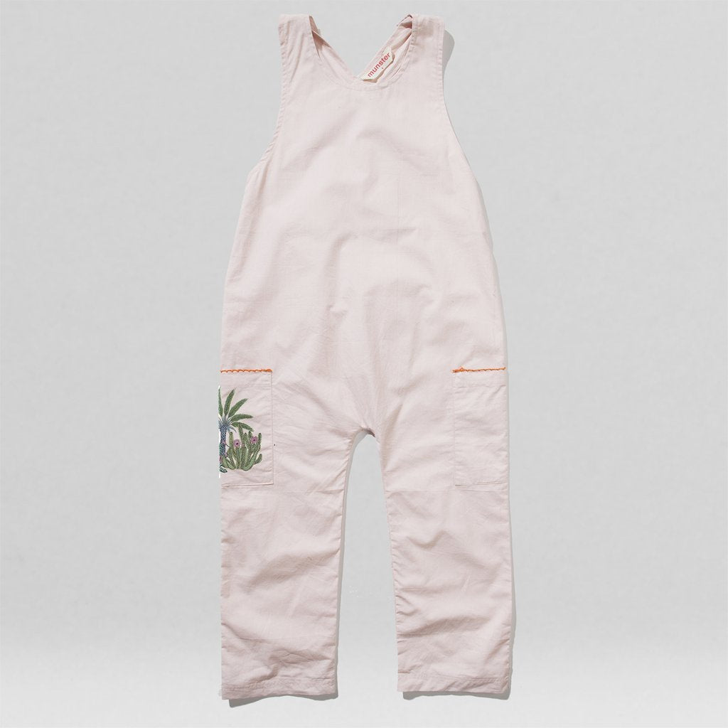 Missie Munster - Cacti Jumpsuit - Dusty Rose