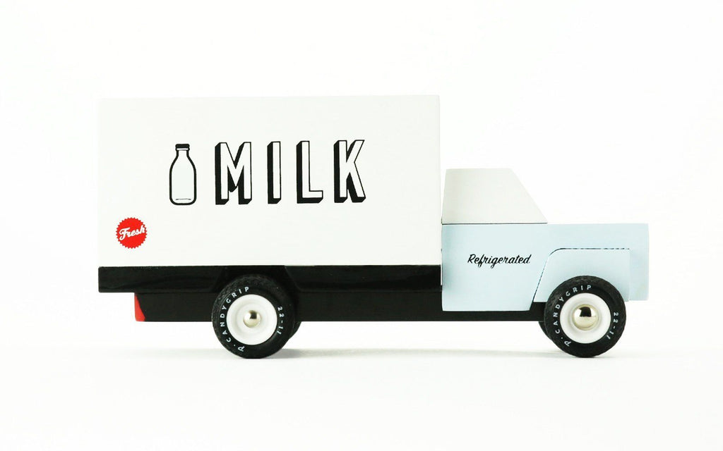 Candylab Wooden Vehicle - Milk Truck